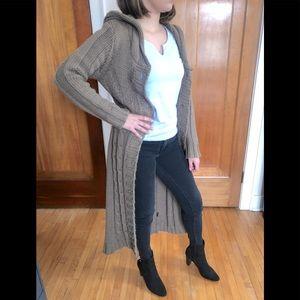 Lapis Chunky Long Cardigan Sweater